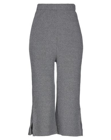 Empathie | Серый Женские серые брюки капри EMPATHIE вязаное изделие | Clouty