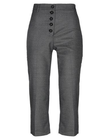 Empathie | Свинцово-серый Женские брюки капри EMPATHIE фланель | Clouty