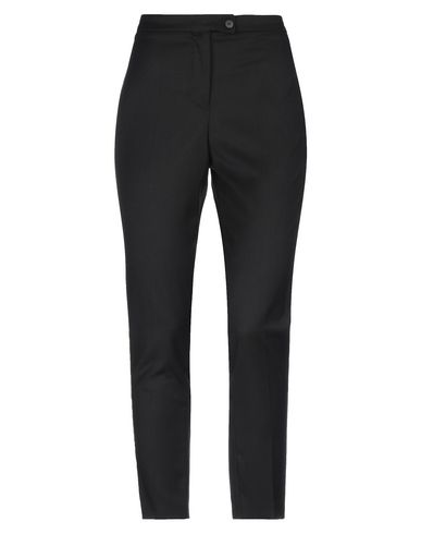 Empathie | Черный Женские черные повседневные брюки EMPATHIE плотная ткань | Clouty