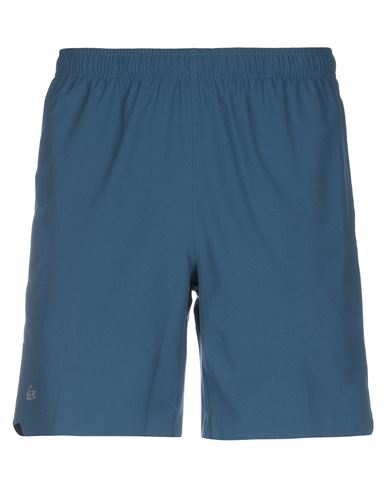 Lacoste Sport | Синий Мужские синие повседневные шорты LACOSTE SPORT техническая ткань | Clouty