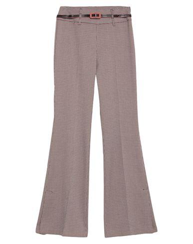 (A.S.A.P.) | Красно-коричневый Женские повседневные брюки (A.S.A.P.) креп | Clouty