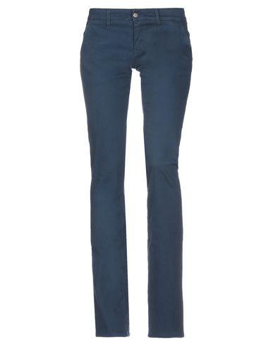 2W2M | Грифельно-синий Женские повседневные брюки 2W2M габардин | Clouty