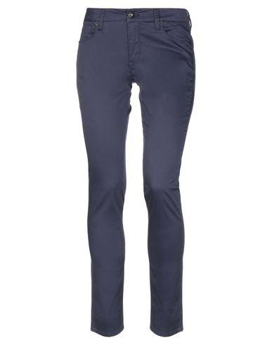 Guess | Темно-синий Женские темно-синие повседневные брюки GUESS атлас | Clouty