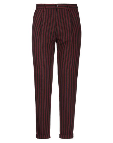 KARL MOMMOO   Красно-коричневый Мужские повседневные брюки KARL MOMMOO фланель   Clouty