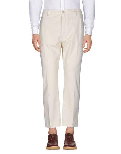 Pence | Слоновая кость; Зеленый-милитари; Темно-синий Мужские повседневные брюки PENCE плотная ткань | Clouty