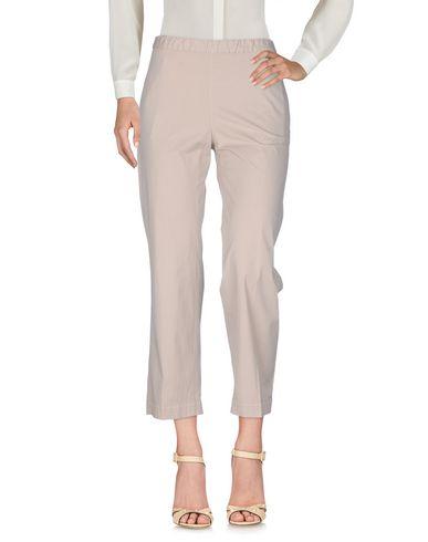 Ql2 Quelledue | Бежевый Женские бежевые повседневные брюки QL2 QUELLEDUE плотная ткань | Clouty