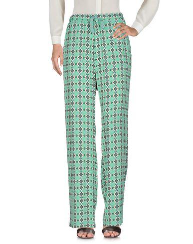 Maesta | Зеленый Женские зеленые повседневные брюки MAESTA креп | Clouty
