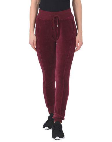 Fenty X Puma | Красно-коричневый Женские повседневные брюки FENTY PUMA by RIHANNA VELOUR FITTED TRACK PANT синель | Clouty