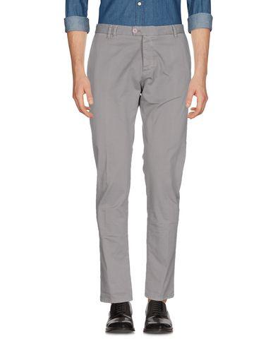 Officina 36 | Серый; Песочный; Светло-серый; Свинцово-серый Мужские серые повседневные брюки OFFICINA 36 твил | Clouty