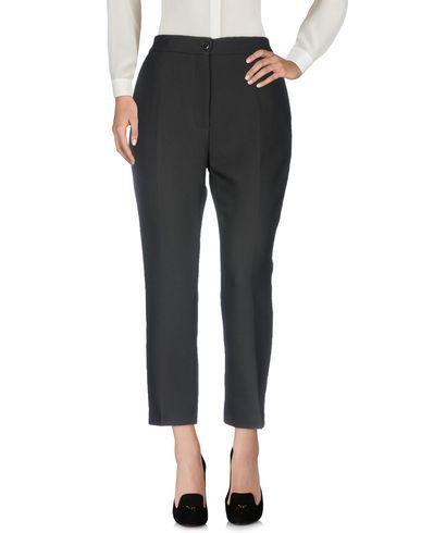 Jucca | Черный Женские черные повседневные брюки JUCCA фланель | Clouty
