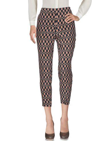 Attic And Barn | Коричневый Женские коричневые повседневные брюки ATTIC AND BARN креп | Clouty