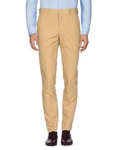 MSGM   Песочный Мужские песочные повседневные брюки MSGM Плотная ткань   Clouty