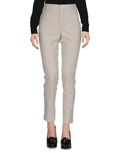 Kubera 108 | Светло-серый Женские светло-серые повседневные брюки KUBERA 108 фланель | Clouty
