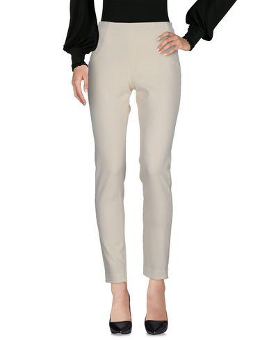 Irma Bignami | Слоновая кость Женские повседневные брюки IRMA BIGNAMI твил | Clouty