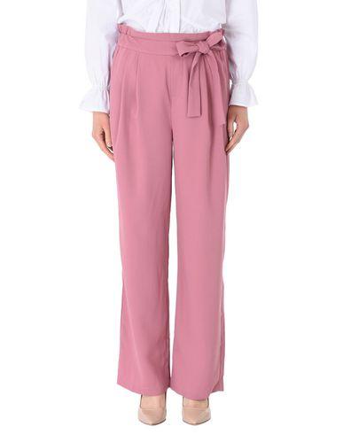MbyM | Пастельно-розовый Женские повседневные брюки MbyM креп | Clouty