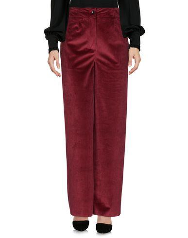Happy25 | Красно-коричневый Женские повседневные брюки HAPPY25 бархат | Clouty