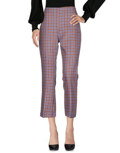 Jucca | Красно-коричневый Женские повседневные брюки JUCCA фланель | Clouty