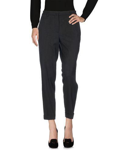 BRAG-WETTE | Стальной серый Женские повседневные брюки BRAG-WETTE шерстяной муслин | Clouty