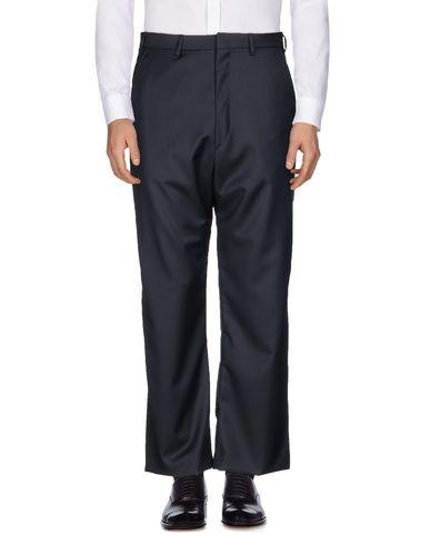 VETEMENTS | Темно-синий Мужские темно-синие повседневные брюки VETEMENTS x BRIONI шерстяной муслин | Clouty