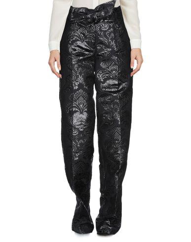 Christian Pellizzari | Черный Женские черные повседневные брюки CHRISTIAN PELLIZZARI жаккардовая ткань | Clouty