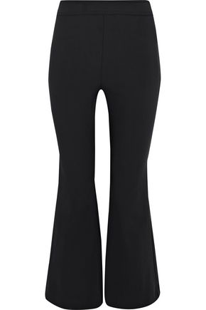 Opening Ceremony | Opening Ceremony Woman William Crepe Kick-flare Pants Charcoal Size 8 | Clouty