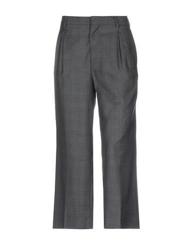 MIU MIU | Стальной серый Женские повседневные брюки MIU MIU шерстяной муслин | Clouty