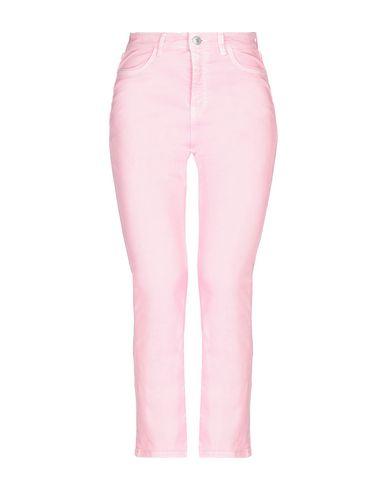 Haikure | Розовый; Верблюжий; Белый Женские розовые джинсовые брюки HAIKURE деним | Clouty