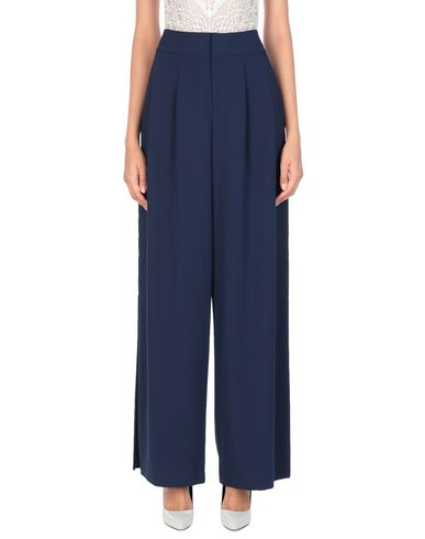 Alice + Olivia | Темно-синий Женские темно-синие повседневные брюки ALICE + OLIVIA креп | Clouty