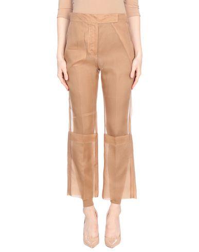 MAX MARA | Песочный Женские песочные повседневные брюки MAX MARA органза | Clouty