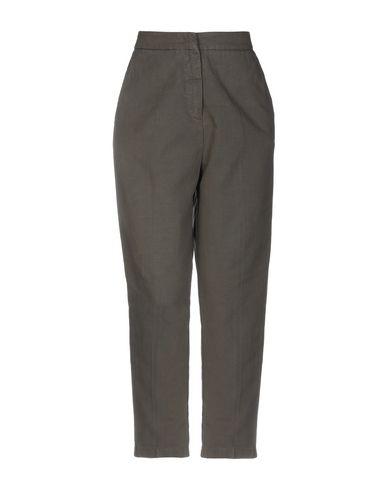 2W2M | Зеленый-милитари Женские повседневные брюки 2W2M плотная ткань | Clouty