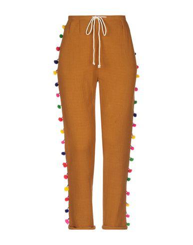 Mes Demoiselles | Верблюжий Женские верблюжьи повседневные брюки MES DEMOISELLES креп | Clouty