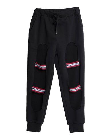 Gaëlle | Черный; Серый Женские черные повседневные брюки GAeLLE Paris флис | Clouty