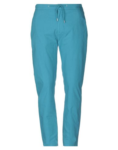 Department 5 | Бирюзовый; Красный; Темно-синий; Пастельно-розовый; Хаки; Слоновая кость Мужские бирюзовые повседневные брюки DEPARTMENT 5 плотная ткань | Clouty