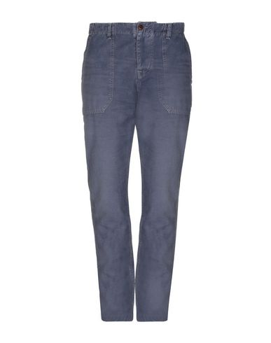 Pepe Jeans Heritage | Грифельно-синий Мужские повседневные брюки PEPE JEANS HERITAGE плотная ткань | Clouty