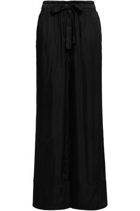 Cinq A Sept | Cinq A Sept Woman Twill Wide-leg Pants Black | Clouty