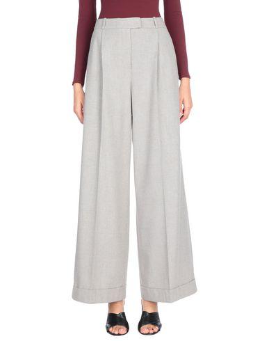 Peserico   Светло-серый Женские светло-серые повседневные брюки PESERICO SIGN фланель   Clouty