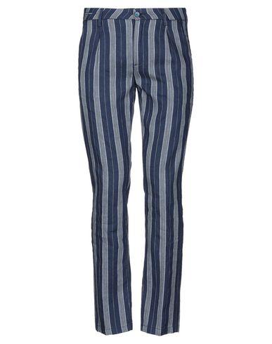 Teleria Zed | Темно-синий Мужские темно-синие повседневные брюки TELERIA ZED плотная ткань | Clouty