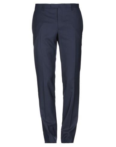 Boglioli   Темно-синий Мужские темно-синие повседневные брюки BOGLIOLI шерстяной муслин   Clouty