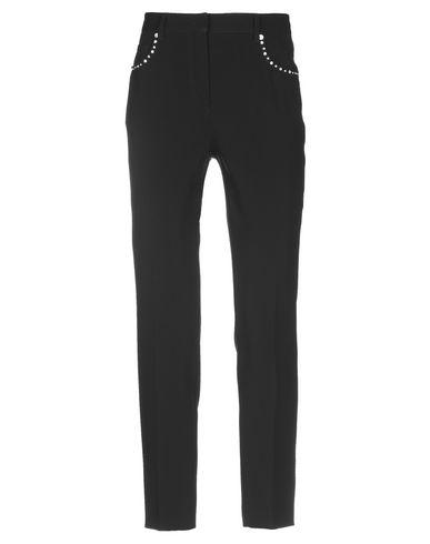 MIU MIU | Черный Женские черные повседневные брюки MIU MIU креп | Clouty