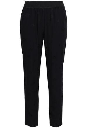 Claudie Pierlot | Claudie Pierlot Woman Crepe Straight-leg Pants Black | Clouty