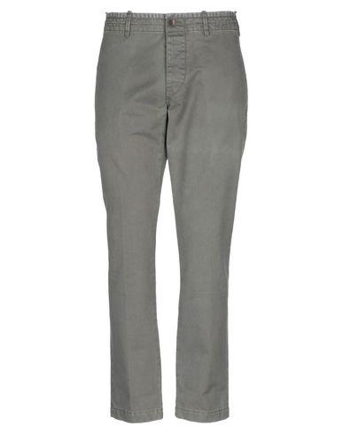 Pence | Зеленый-милитари Мужские повседневные брюки PENCE твил | Clouty
