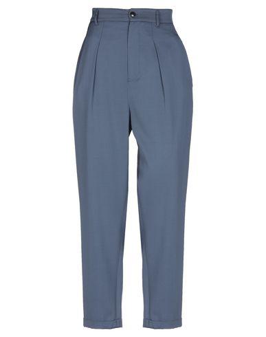 Closed | Грифельно-синий Женские повседневные брюки CLOSED плотная ткань | Clouty