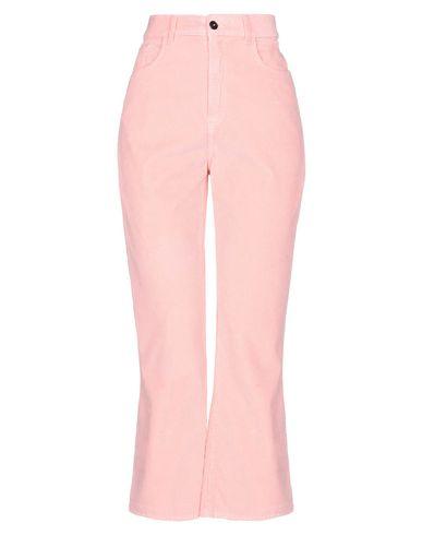 Jucca | Розовый; Пастельно-синий; Фуксия Женские розовые повседневные брюки JUCCA бархат | Clouty