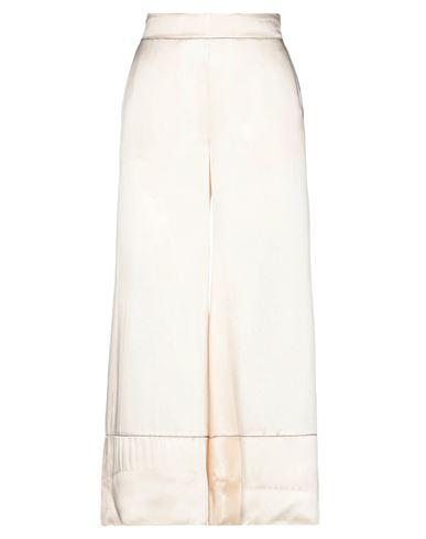 Jucca | Слоновая кость Женские повседневные брюки JUCCA атлас | Clouty