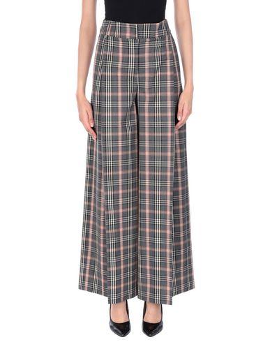 Jucca | Свинцово-серый Женские повседневные брюки JUCCA плотная ткань | Clouty
