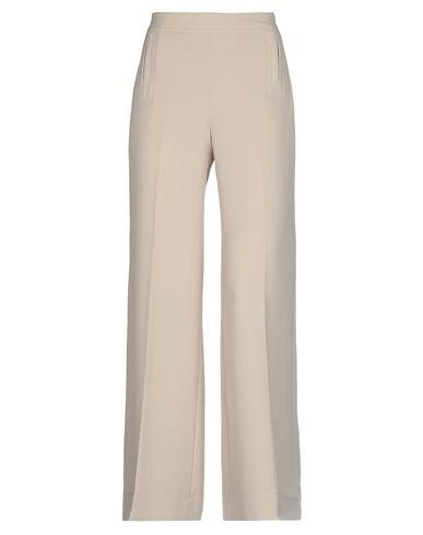 L'Autre Chose | Бежевый Женские бежевые повседневные брюки L' AUTRE CHOSE креп | Clouty