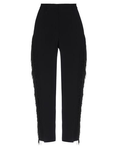 Jucca | Черный Женские черные повседневные брюки JUCCA шелк-кади | Clouty