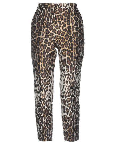 Jucca | Бежевый Женские бежевые повседневные брюки JUCCA жаккардовая ткань | Clouty