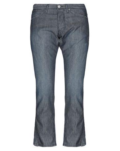 Michael Coal | Синий Мужские синие джинсовые брюки капри MICHAEL COAL деним | Clouty