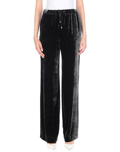 Les Copains | Стальной серый; Черный Женские повседневные брюки LES COPAINS бархат | Clouty